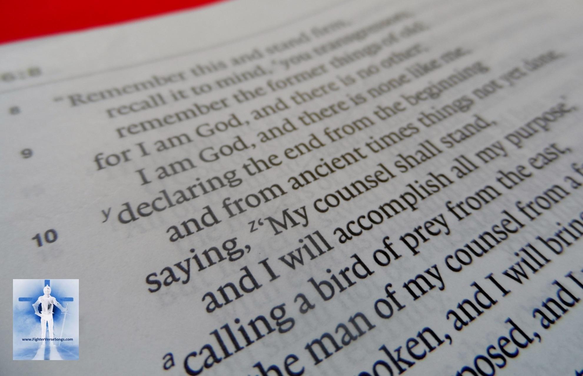 Isaiah 46:9-10