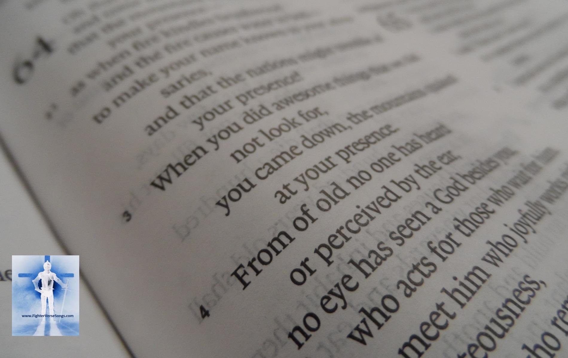 Isaiah 64:4