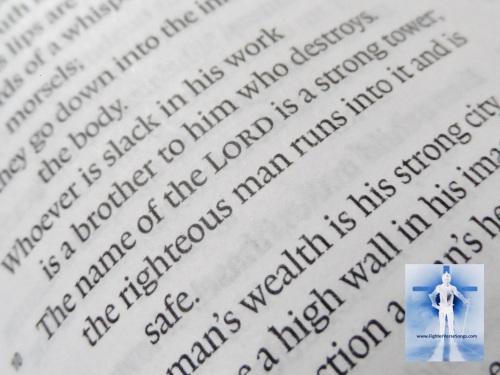 Proverbs 18:10