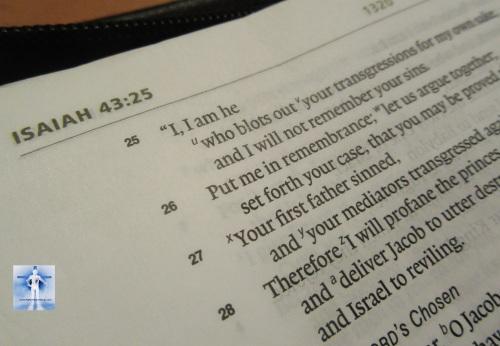 Isaiah 43:25