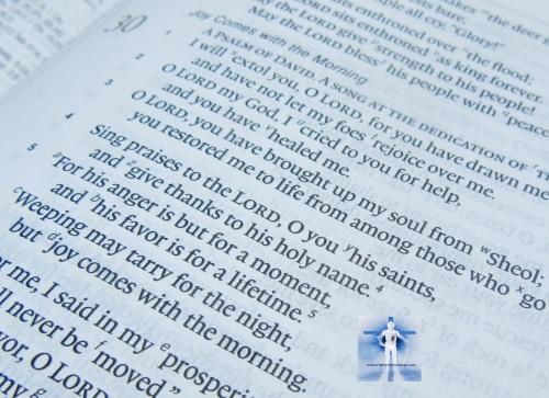 Psalm 30:4-5